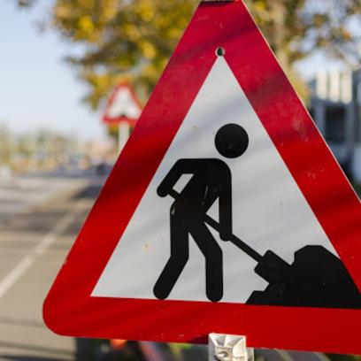 Öreghegy utcai betonút helyreállítása